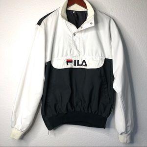 Vtg FILA 1988 Seoul Olympics Pullover Jacket